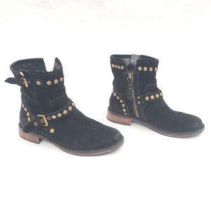 UGG Suede Zip up Half Boots US Size 6.5 / EUR 37.5
